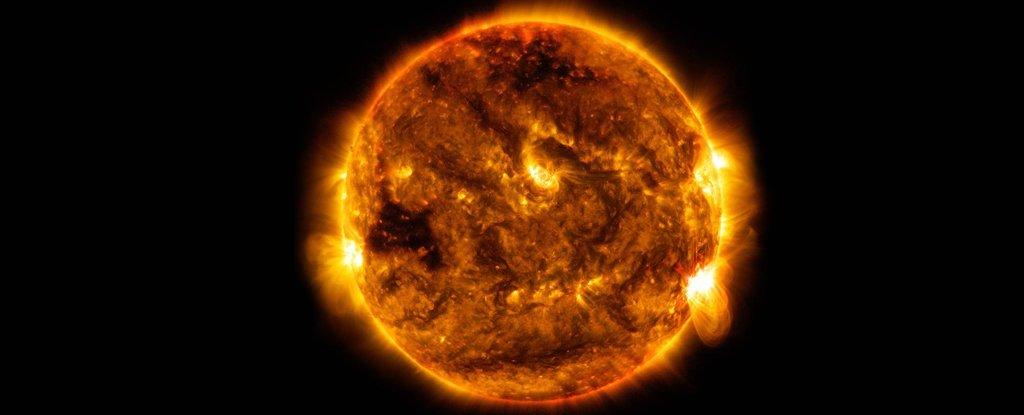 چرا بادهای خورشیدی که به زمین برخورد می کنند داغ تر از آن چیزی هستند که باید باشند خورشید