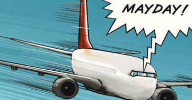 """چرا """" Mayday """" فراخوان بین المللی اضطراب برای خلبان در شرایط بحرانی است؟"""