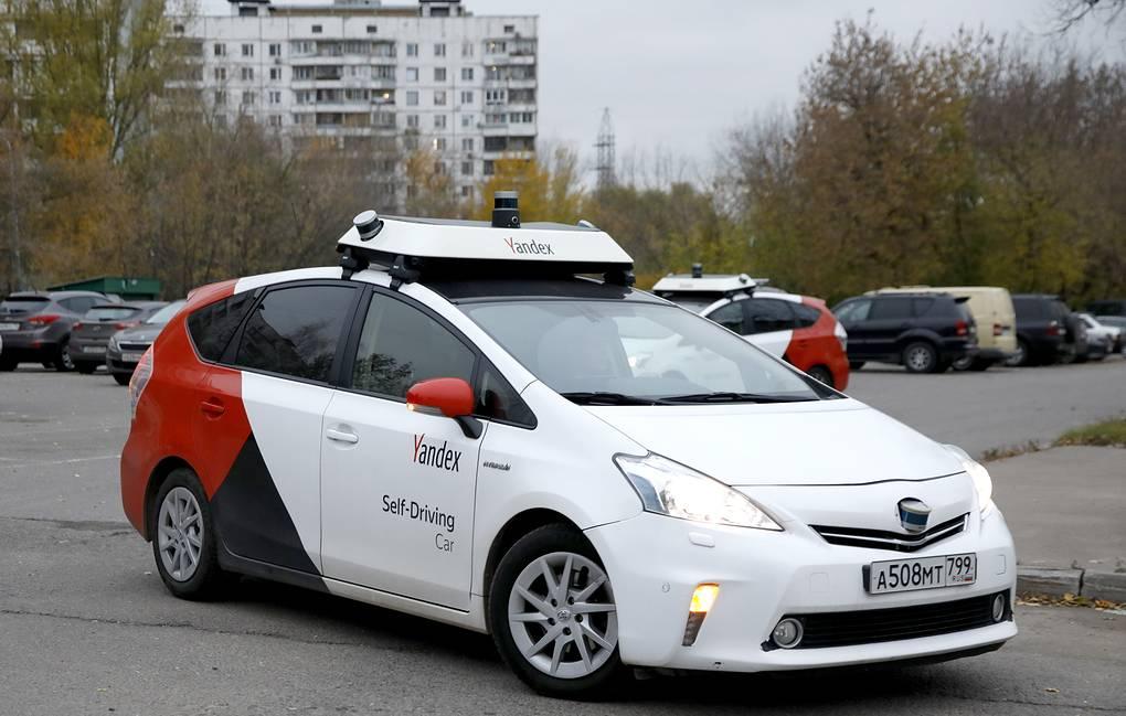 تصویر از روسیه نسل جدید تاکسی های بدون راننده خود را رونمایی کرد