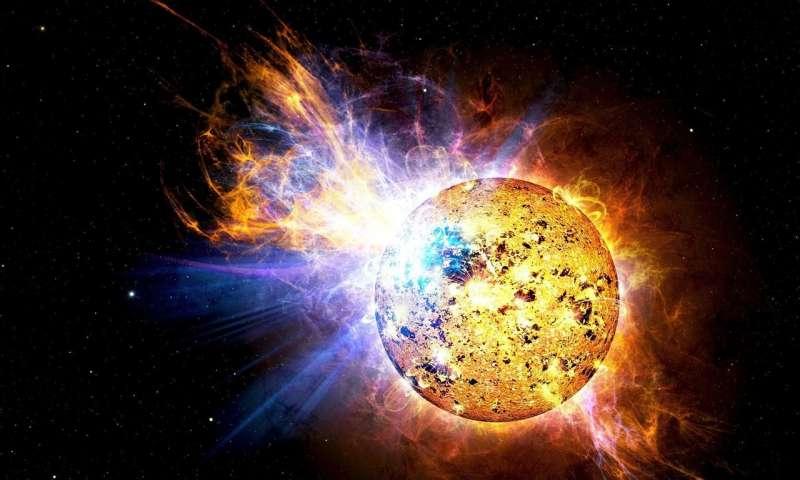 یک تلسکوپ جدید برای مطالعه شعله های خورشیدی