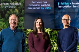 مایکروسافت دی اکسید کربنی را که وارد جو زمین کرده، جمعآوری میکند
