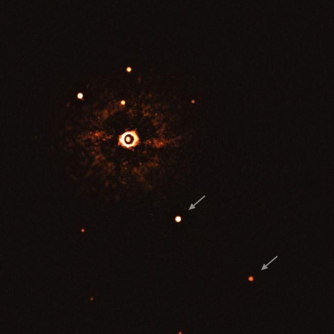 تصویر از اولین منظومه شبه خورشیدی توسط اخترشناسان روئیت شد