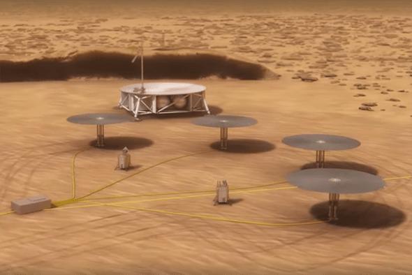تصویر از ساخت نیروگاه های هسته ای در ماه و مریخ به منظور اکتشافات فضایی و تولیدبرق