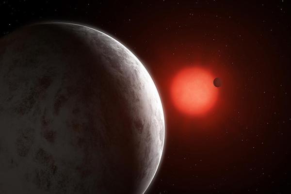تصویر از ابرزمین با ویژگیهای قابل توجه مشابه سیاره زمین در فاصله ۱۱ سال نوری کشف شد