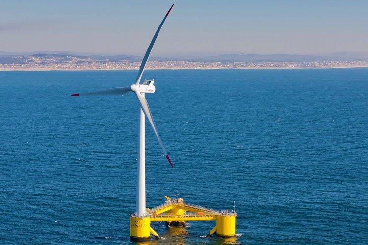 WindFloat Atlantic-بزرگترین توربین بادی شناور تولید برق جهان در کشور پرتغال افتتاح شد
