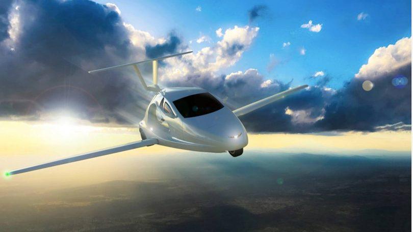 نیوهمپشایر-پرواز اولین خودرو پرنده در ایالت New Hampshire