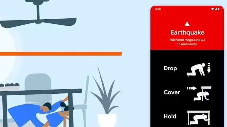 گوگل، تلفن های اندرویدی را به سیستم قابلیت شناسایی و زلزله ردیابی زلزله و زمین لرزه تبدیل می کند لرزه نگار اندروید