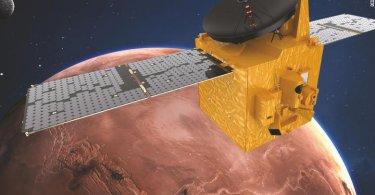 اولین تصاویر ارسال شده کاوشگر امید امارات از مریخ