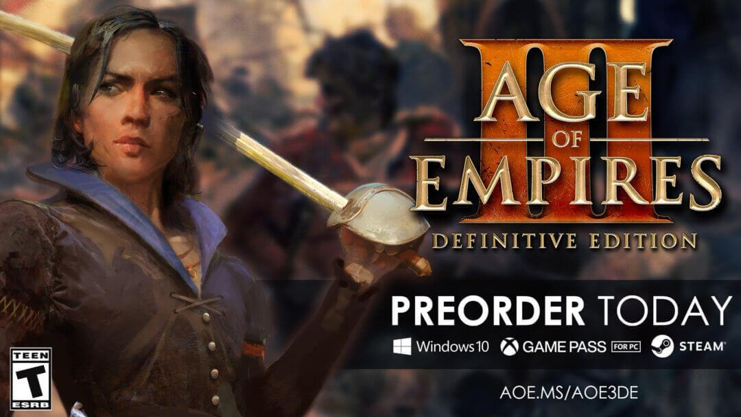 تصویر از بازی Age of Empires III: Definitive Edition برای Pc به زودی منتشر می شود