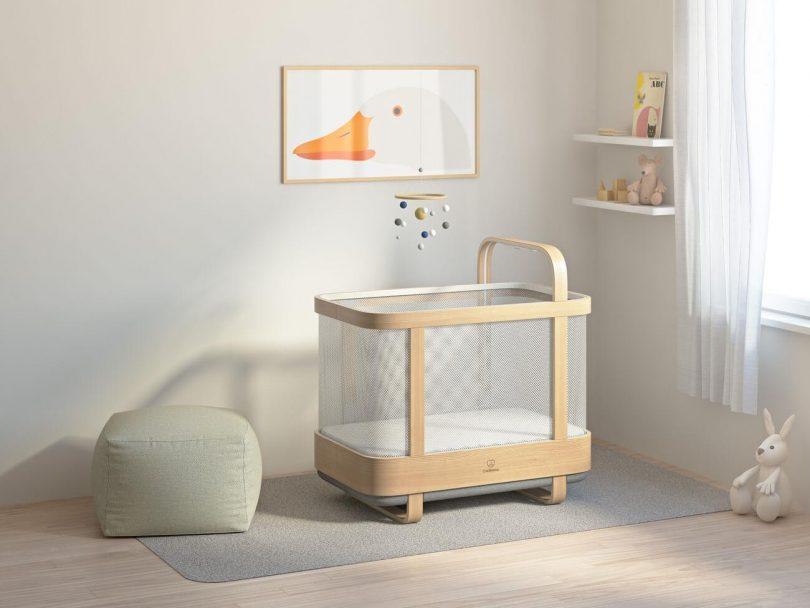 گهواره هوشمند Cradlewise به کمک خواب شیرین نوزادان آمد