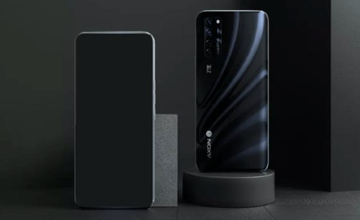 اولین رندر رسمی گوشی ZTE جدید با دوربین سلفی در زیر صفحه نمایش
