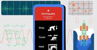 گوگل، تلفن های اندرویدی را به سیستم قابلیت شناسایی و زلزله ردیابی زلزله و زمین لرزه تبدیل می کند