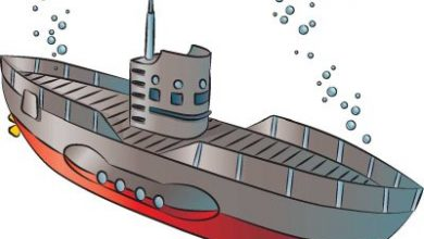 نحوه ترسیم زیردریایی ها در 6 مرحله