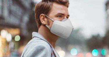 رونمایی ال جی از ماسک تصفیه هوا با باتری قابل شارژ