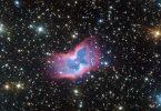 تلسکوپ بسیار بزرگ ESO تصویر یک سحابی پروانه ای کیهانی را ضبط می کند