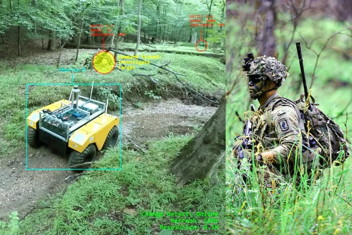 فناوری LiDAR به ربات ها اجازه می دهد خطا های سربازان را تشخیص دهند