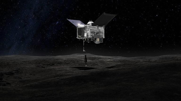 فضاپیمای OSIRIS-REx ناسا آماده است تا سیارک بنو را لمس کرده و نمونه ای از آن را بگیرد