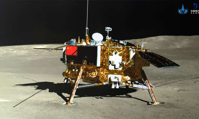 تصویر از طبق اندازه گیری های جدید، ماه دارای تابش های خطرناک است