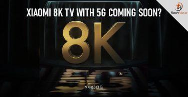 شیائومی تلویزیون 8K را با قابلیت اتصال 5G راه اندازی می کند