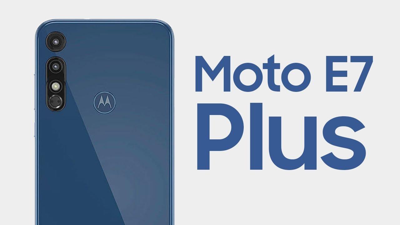 تصویر از موتورولا از تلفن هوشمند Motorola Moto E7 Plus خود رونمایی کرد