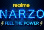 ریلمی از گوشی هوشمند Realme Narzo 20 رونمایی می کند