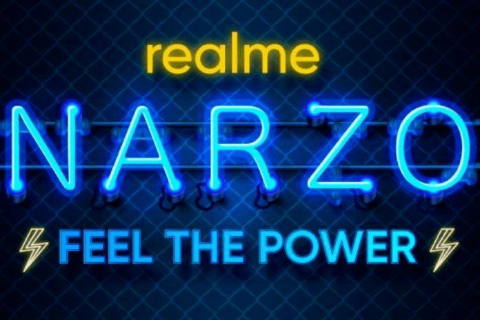 تصویر از ریلمی از گوشی هوشمند Realme Narzo 20 رونمایی می کند