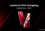به روز رسانی Realme 5s-ریلمی به روز رسانی Realme 5، 5i و 5s را تایید نمود.