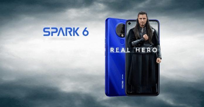 گوشی هوشمند تکنو از Tecno Spark 6 رونمایی نمود.