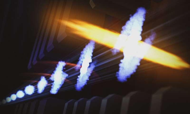 پالس های لیزر پرتو ایکس، وجود امواج الکترونیکی در مولکول ها را نشان می دهد