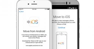 اپل-نحوه انتقال فایل ها از دستگاه Android به دستگاه iOS یا iPadOS