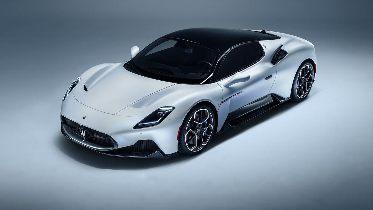 تولید نسخه الکتریکی پرچمدار مازراتی یعنی Maserati MC20 خودرو