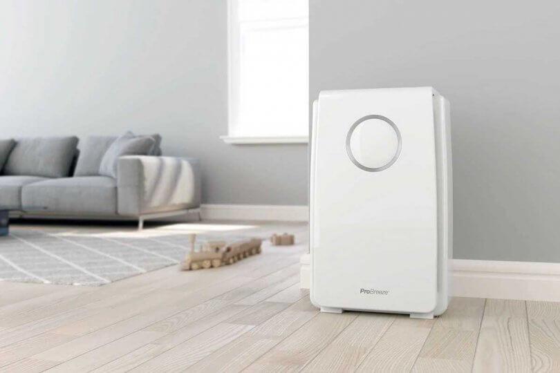تصفیه کننده هوا Pro Breeze تا 99.97٪ گرد و غبار و باکتری ها را به دام می اندازد