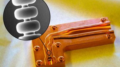 اختراع SLAC می تواند شتاب دهنده های ذرات را 10 برابر کوچکتر کند لیزر الکترون ذره