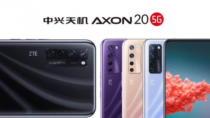 رونمایی از گوشی هوشمند ZTE AXON 20 5G در چین