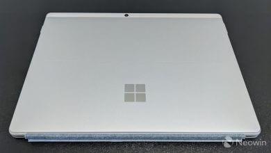 رمزگشایی تبلت Surface Pro X (پلاتین با پردازنده Microsoft SQ2) سرفیس پرو ایکس 2 مایکروسافت
