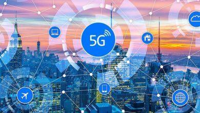 تصویر از شبکه 5G کمپانی O2 اکنون در بیش از 100 شهر و روستا موجود است
