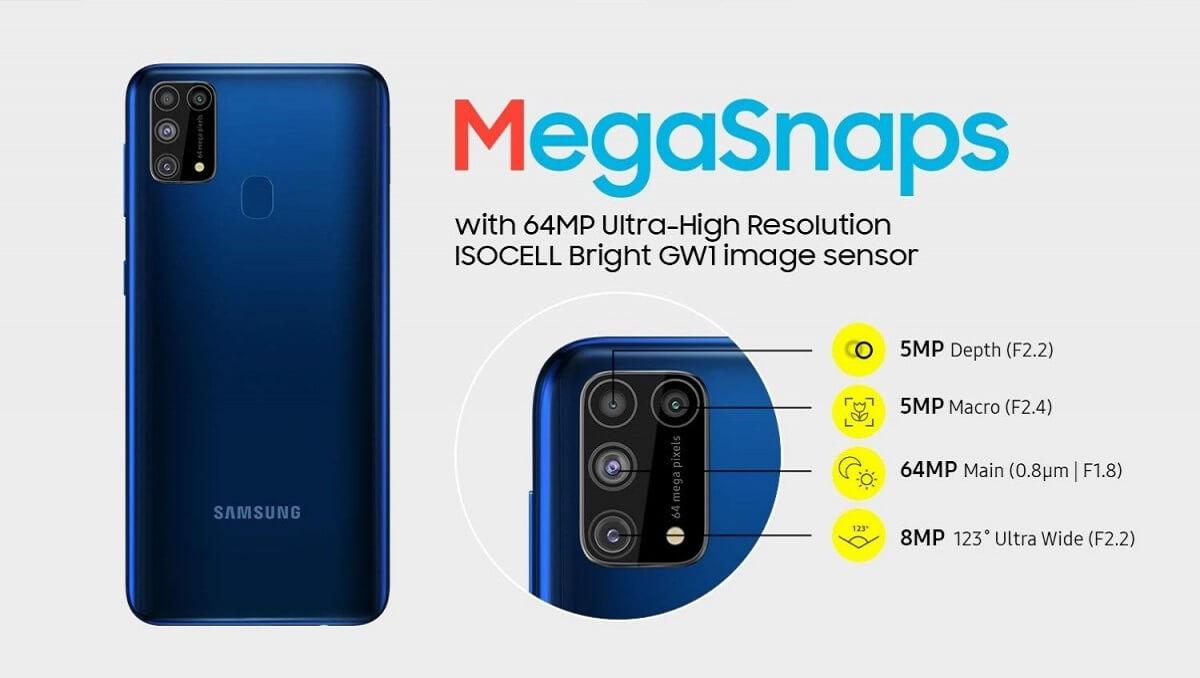 مشخصات و طراحی Samsung Galaxy M31 Prime منتشر شد