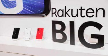 گوشی هوشمند Rakuten BIG با دوربین سلفی زیر نمایشگر رونمایی شد.