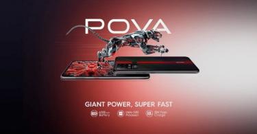 TECNO از گوشی هوشمند جدید خود به نام TECNO POVA رونمایی نمود.