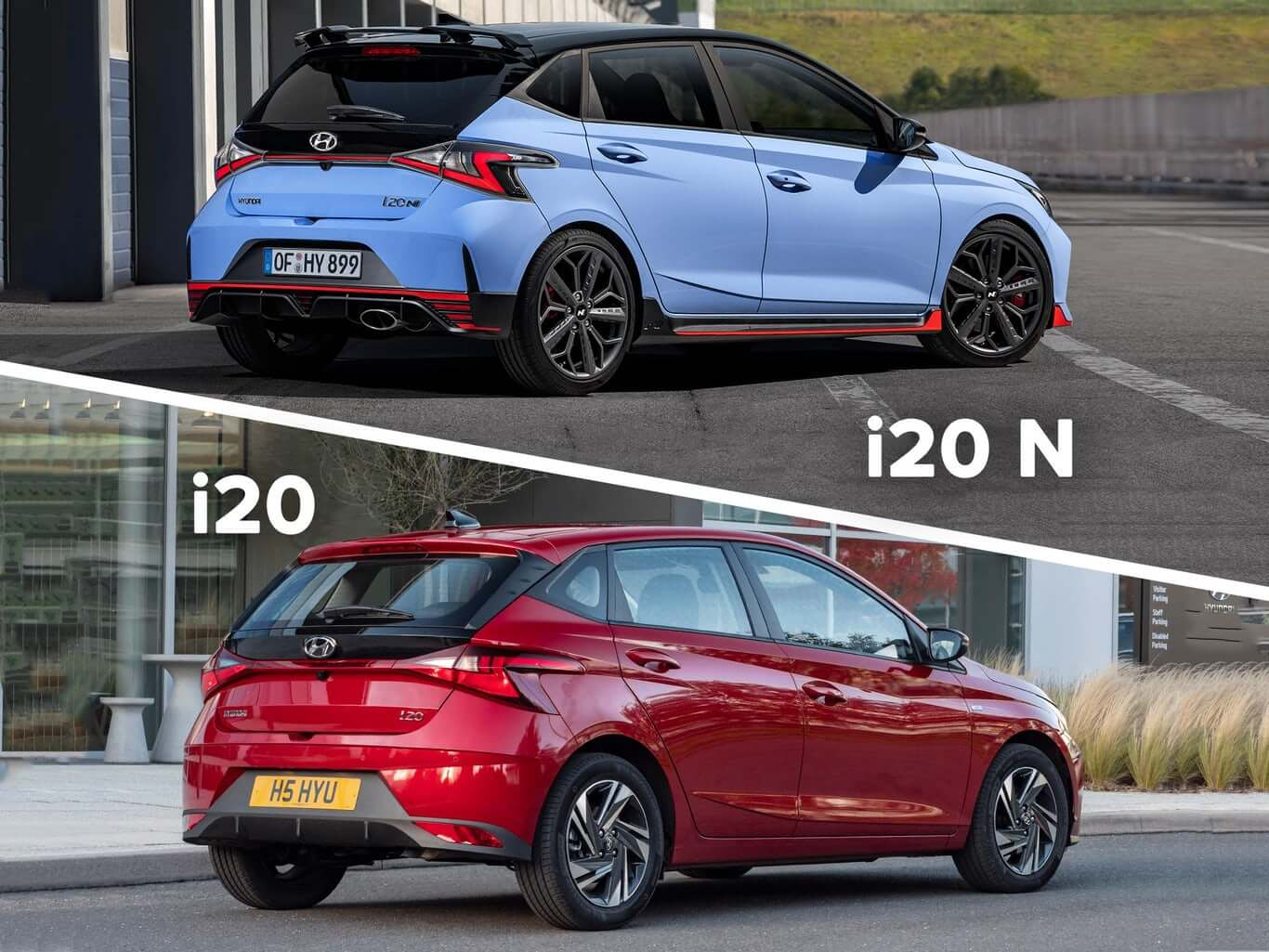 تصویر از معرفی خودرو سوپرمینی هاچ بک Hyundai i20 N به روزشده 2021