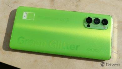 جعبه گشایی و استفاده از گوشی Green Glitter OPPO Reno4 Pro 5G