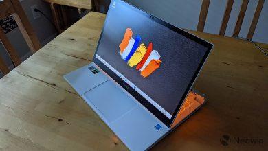 جعبه گشایی Acer ConceptD 3 Ezel و اولین برداشت ها از تبلت ایسر