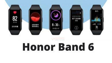 دستبند Honor Band 6 به طور رسمی با ردیاب تناسب اندام تمام صفحه معرفی شد