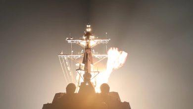 ناوشکن نیروی دریایی ایالات متحده با موشک بالستیک قاره پیما ICBM مقابله کرد
