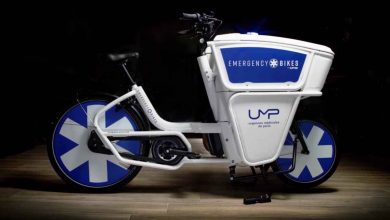 طراحی آمبولانس Ebike برای خیابان های شلوغ پاریس