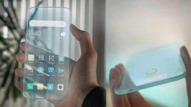 گرفتن حق ثبت اختراع گوشی های هوشمند شفاف توسط سامسونگ
