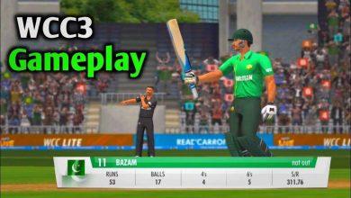 دانلود جدید ترین نسخه بازی کریکت چند نفره World Cricket Championship 3