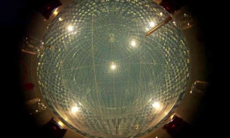 آشکارساز بورکسینو، ذرات شبح نوترینو را از خورشید پیدا می کند CNO