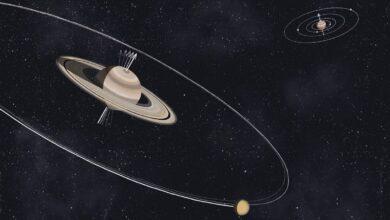 دلیل انحراف زیاد سیاره زحل نسبت به محور خود چیست؟