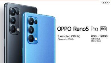 گوشی هوشمند Oppo Reno5 Pro به زودی به بازار ایران می آید